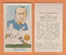 Scotland Jimmy Delaney Mancheser United